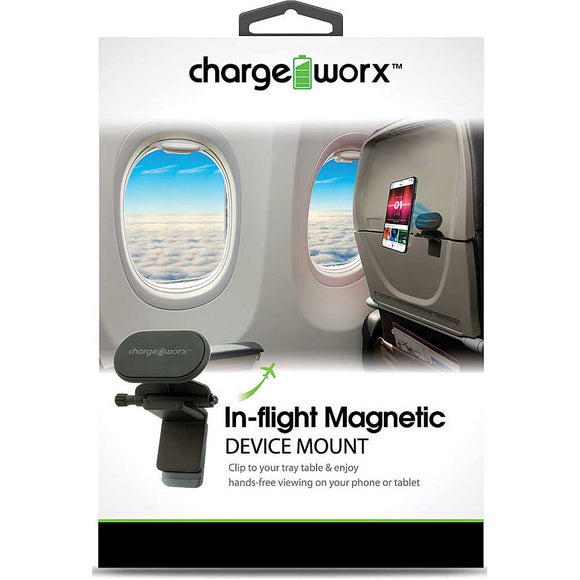 Chargeworx Airplane Inflight Magnetic Phone & Tablet Mount