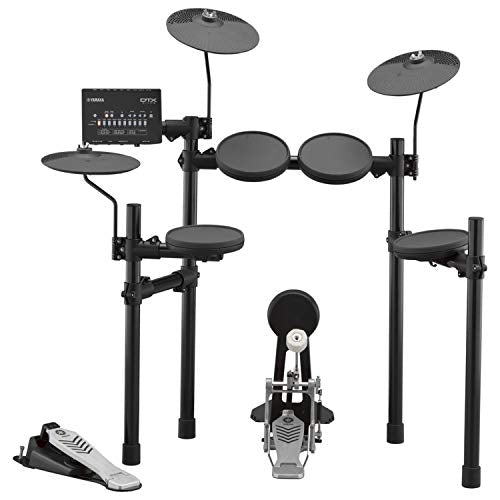 Yamaha  Electronic Drum Set, 10 Drum Kits, 10 Songs, and 10 Training Functions, Free App for Recording
