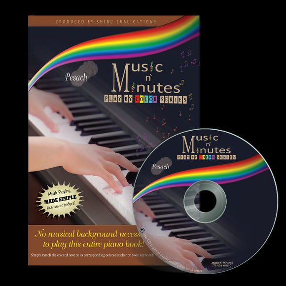 Music in Minutes Play by Color Series - Pesach