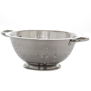 YBM Home 5QT 160Oz Colander Strainer, Stainless Steel