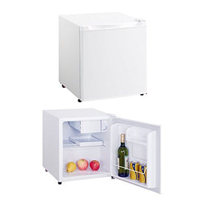Impecca 1.7 Cubic Feet Compact Refrigerator Fridge with Freezer Compartment, White