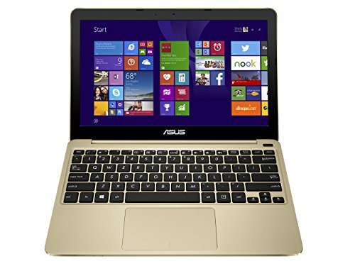 ASUS EeeBook X205TA-DS01 11.6-inch Laptop Netbook (Gold)