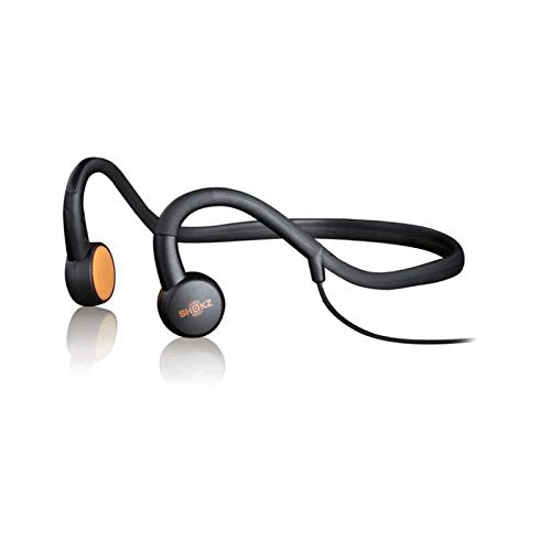 Aftershokz AS450 Sportz M3 Open Ear Behind the Head Stereo Headphones with Microphone, Black