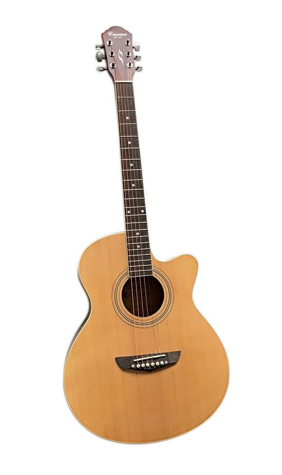 Promo Grand Concert Cutaway Acoustic Guitar, Natural, GA510C-NT 40