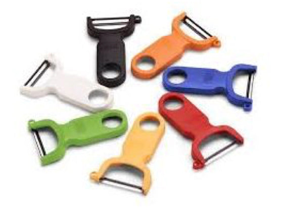 Kuhn Rikon Original Swiss Peeler (Black, Green, Orange, White, Blue, Red)