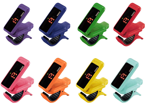 Korg PC1 Pitchclip Clip-On Chromatic Tuner (Various Colors)