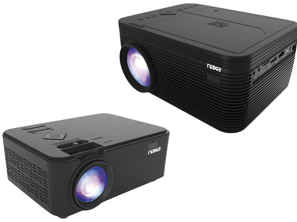 Naxa 150-Inch Home Theater LCD Projector (With and W/out built-in DVD