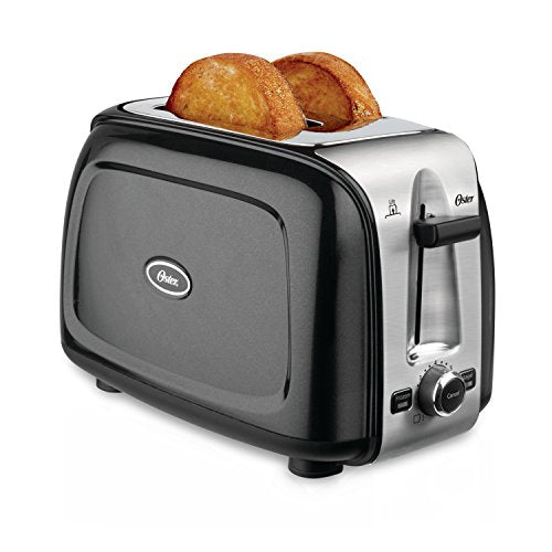 Oster 2 Slice Pop Up Toaster, Black