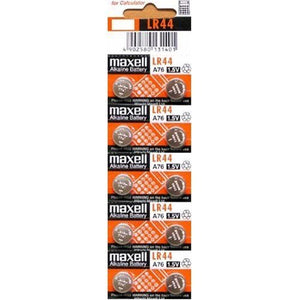 Maxell LR44, AG13, A76 Battery, 2 Pack BATTBUT