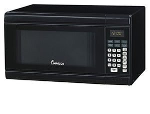 Impecca CM0991K Countertop Microwave Oven 900W Power,  0.9 cu. ft., Black