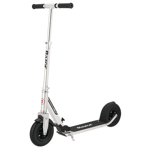Razor A5 Air Folding Kick Scooter, Silver - For ages 8 and up, Up to 220lbs