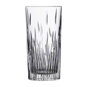 Crystal Highball Glasses, Fire - Set of 6