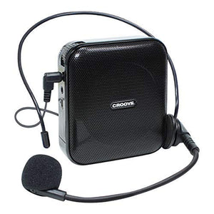 Portable Rechargeable Microphone with Headset & Belt Clip