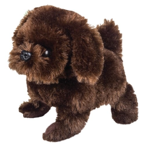 Battery Operated Plush Pete the Pedigree Brown Dog
