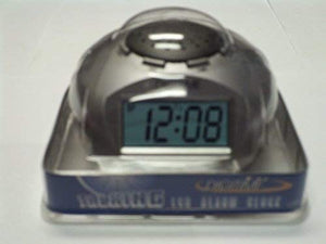 Digitime Talking LCD Alarm Clock