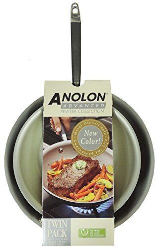 Anolon 084430 Pewter Collection Hard Anodized 10