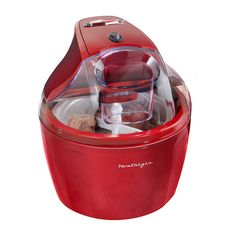 NOSTALGIA ICM15RR 1.5 QT ELECTRIC GEL ICE CREAM MAKER
