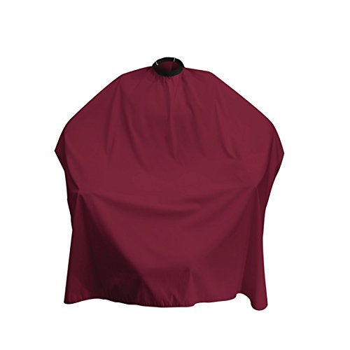 Adjustable Haircut Cape (Burgundy)