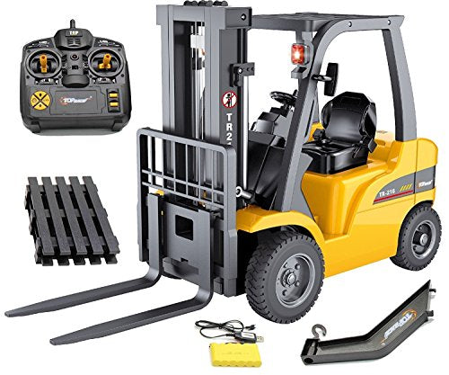 Top Race Gigantic RC Full Function Loaded Metal Forklift