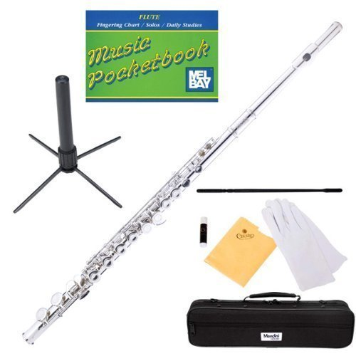 Key of C Nickel Plated Flute Kit