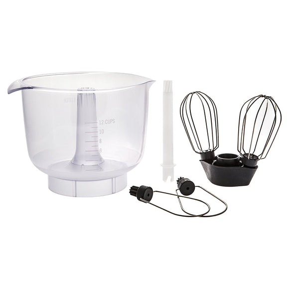 Magic Mill Mixer Ankarsrum Double Whisk Set with Bowl MIXREP