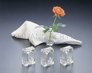 Acrylic Napkin Rings (Set of 4)