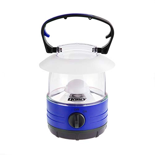 Dorcy LED Bright Mini Lantern 70 Hour Run Time, Assorted Colors, 4xAA Required