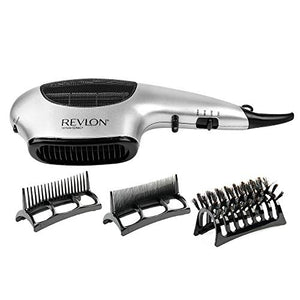Revlon 1875 Watt 3-in-1 Styling Hatchet Hair Dryer, s Speed