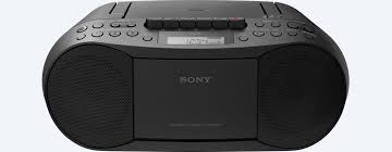 Sony Stereo CFDS70   CD/ MP3 CD/ Cassette Boombox Home Audio Radio - Black (Refurbished)