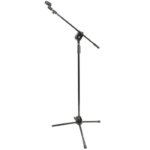 Pyle-Pro Telescoping Tripod Mic Stand with Extending Boom