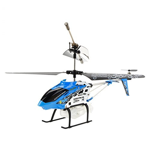 Syma S107P 3.5 Channel Bubble Spraying Infrared RC Remote Control Helicopter RTF, Blue