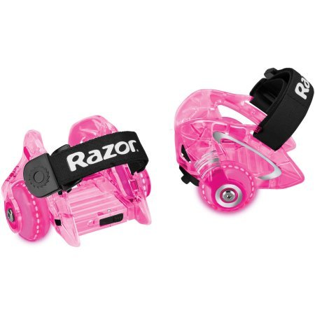 Razor Jetts DLX  Heel Wheels , Pink