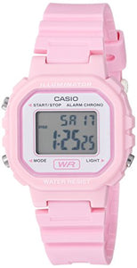 Casio Colored Digital Watch, Pink