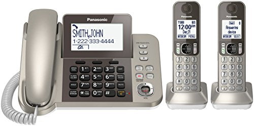 Panasonic Cordless Phone System With Corded Base