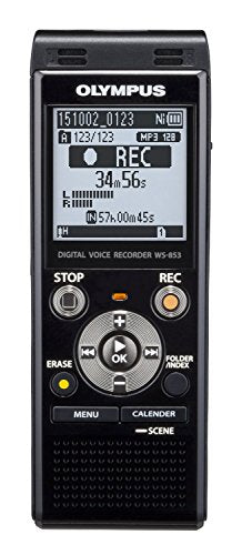 Olympus 8GB Voice Recorder Certified Refurbished, Black