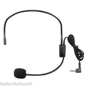 Replacement Headset Microphone for Wireless PA Systems Audio 2000