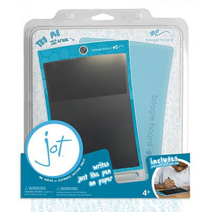 "Boogie Board Jot 8.5"" eWriter & Blue Cover, Geometric Orange"