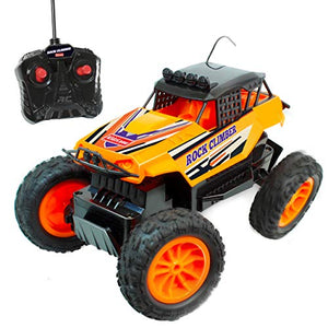 Kidzlane Rock Climber Remote Control Car - 27MHz Off Road RC Truck