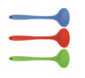 "Luciano Gourmet Silicone Ladle  11"", Green"