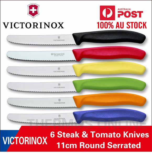 "Victorinox 4.5"" Utility Knife (Green, Yellow, Red, Blue, Black, White)"
