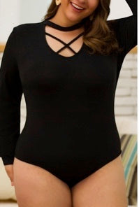 Chic Element Curve Bodysuit - Wild Soul