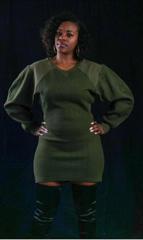 Follow My Lead Sweater Dress - Wild Soul