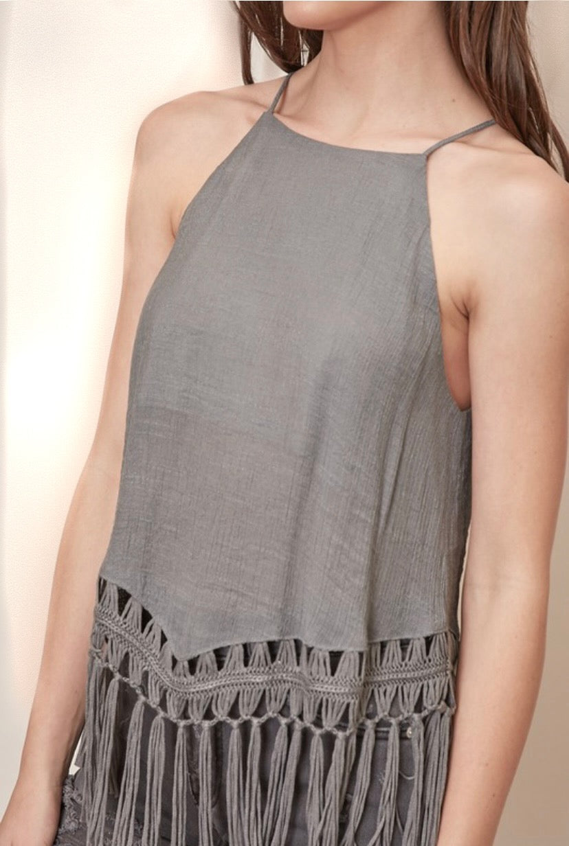 In With The New Tassel Tank - Wild Soul