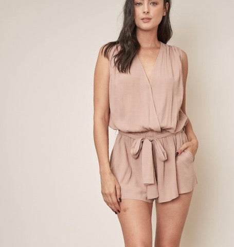 Rock The Boat Pocketed Romper - Wild Soul
