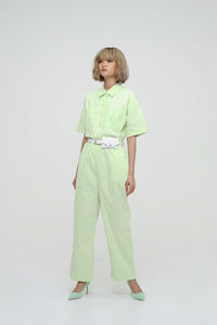Neon Green Jumpsuit