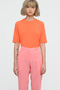 VIVID ORANGE T-SHIRT TOP