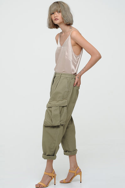 Nude High Shine Camisole Top