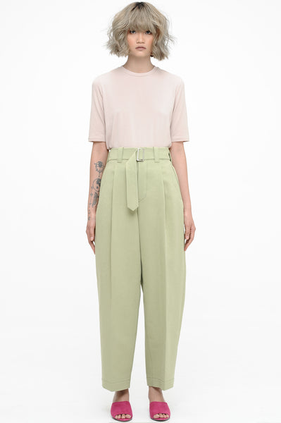 Sage Balloon Trousers