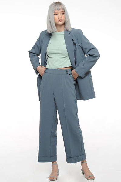 Blue Spruce Double Breasted Suit Set