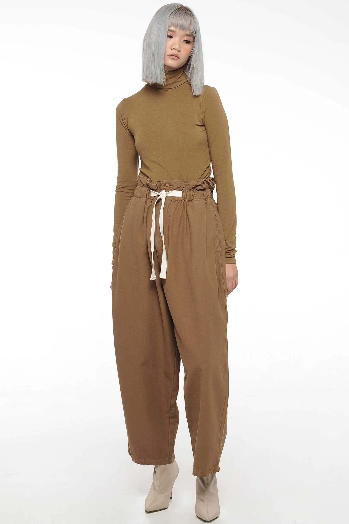 Chocolate Balloon Trousers